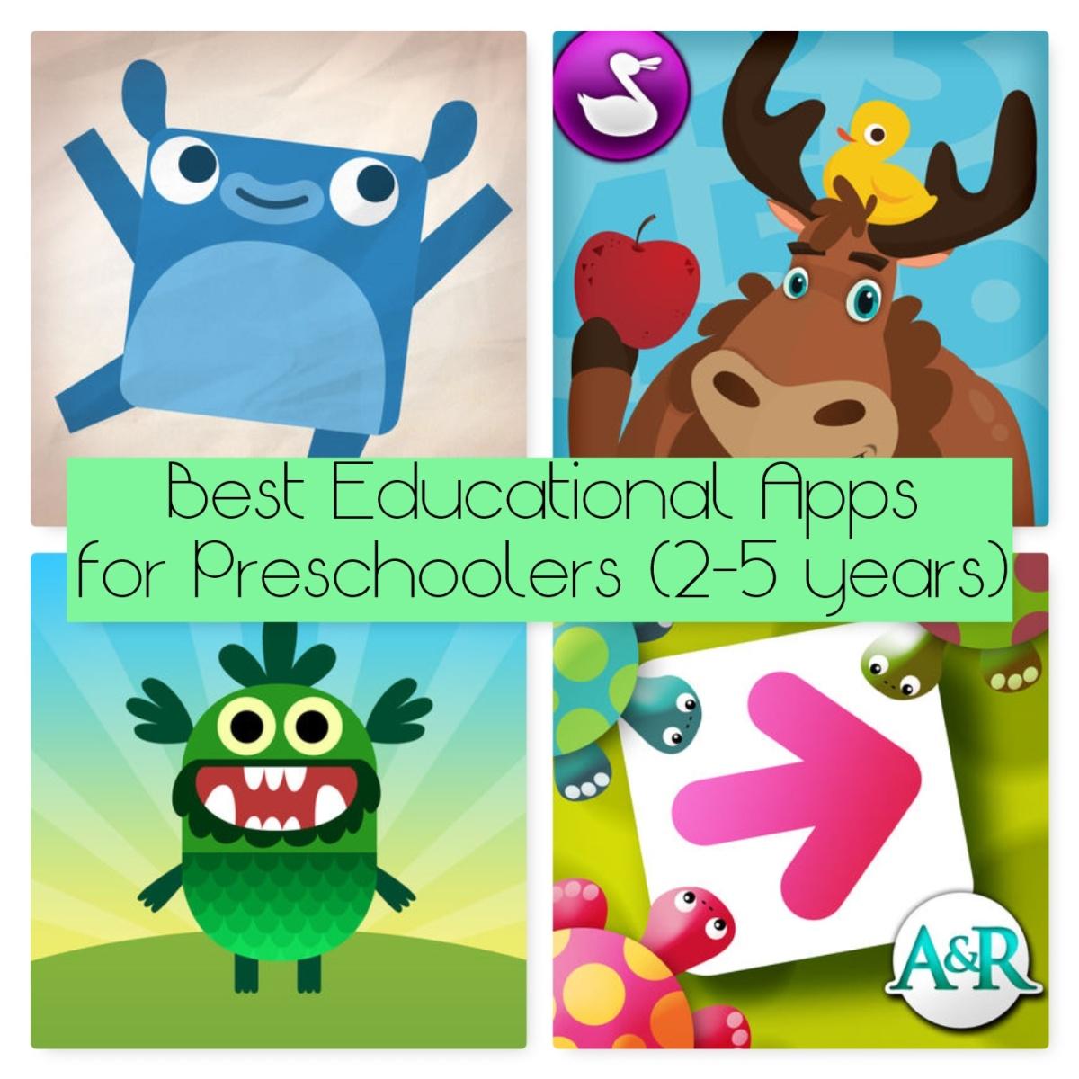 Best Educational Apps For Preschoolers (2-5 Years